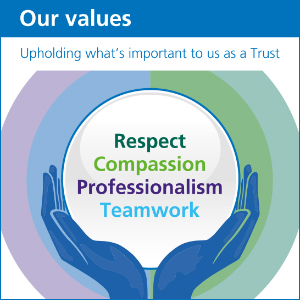 Our Values - Respect, Compassion, Professionalism and Teamwork