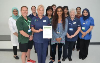 Macmillan recognises support for Walsall cancer patients