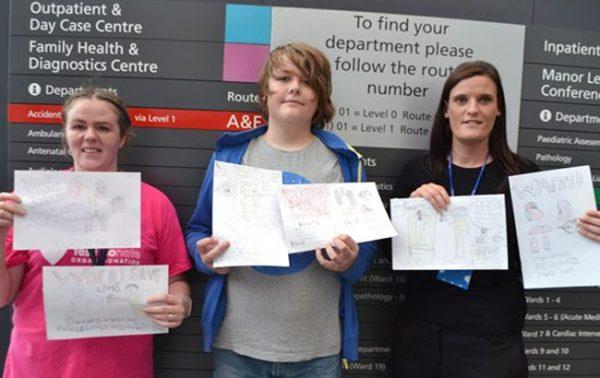 Steven helps spread the organ donation week message