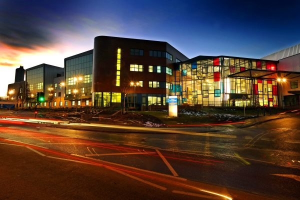 Walsall Manor Hospital at night