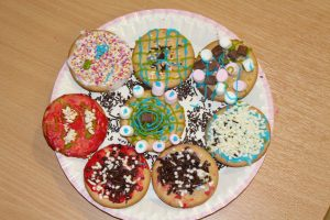 Some of the tasty treats made