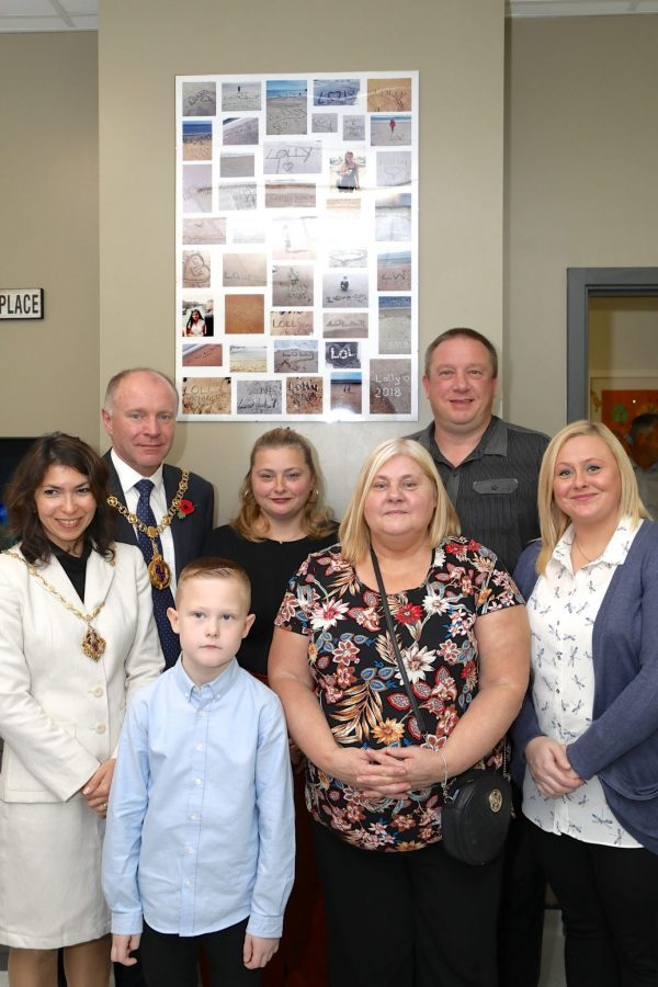 Walsall Mayor and Lolly's Family