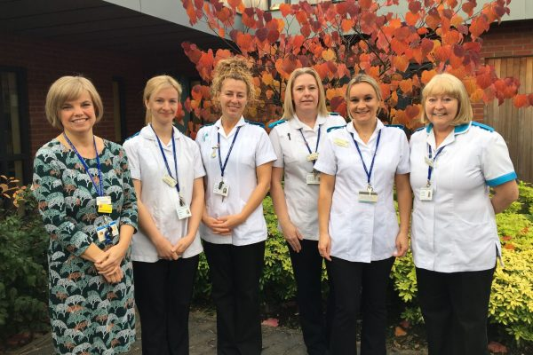 Complementary Therapies Team Group Photo