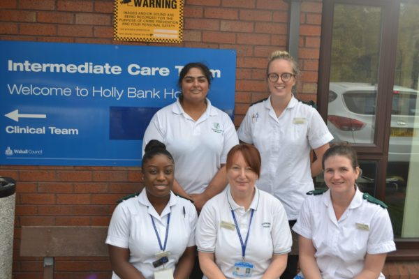 Members of the Intermediate Care Team