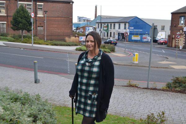 blogger Colette enjoys a walk