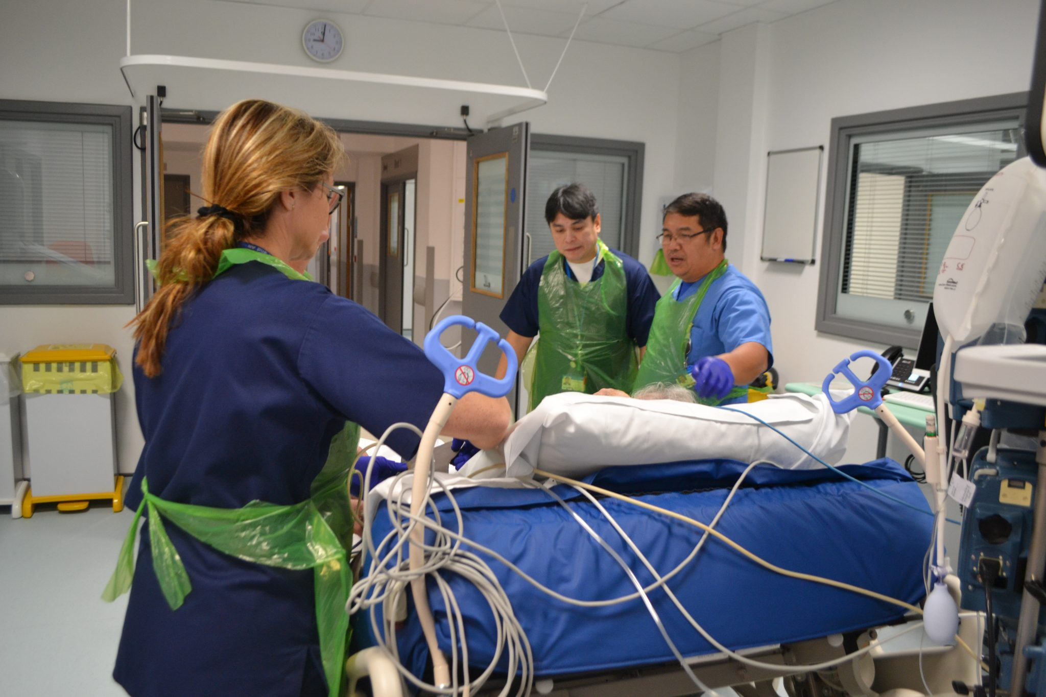 Patients settled into new ICU - Walsall Healthcare NHS Trust