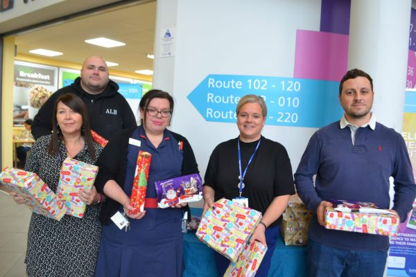 donation of presents for children's ward