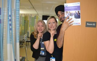 Director of Nursing launches the Quiet Protocol