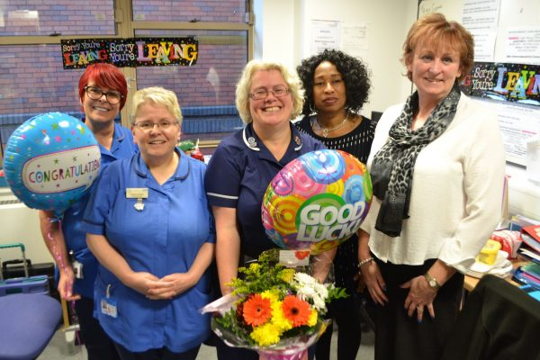 Goodbye to much loved Research nurse