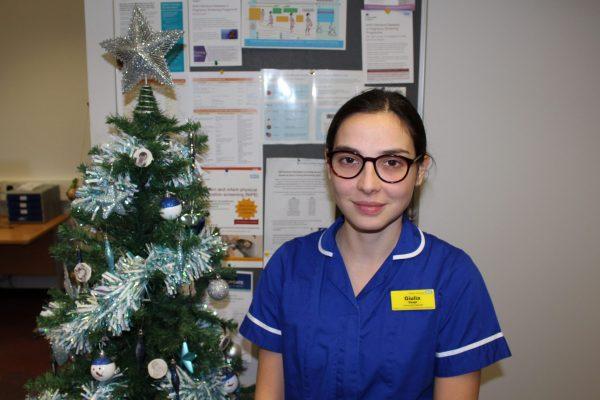 Giulia Staff nurse