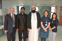 Mayor joined my Chaplaincy staff in new icu