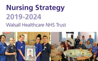 front cover of new nursing strategy
