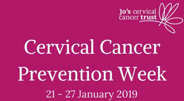 Cervical Cancer Prevention Week 2019 logo