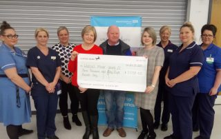 Family's donation to chemo unit