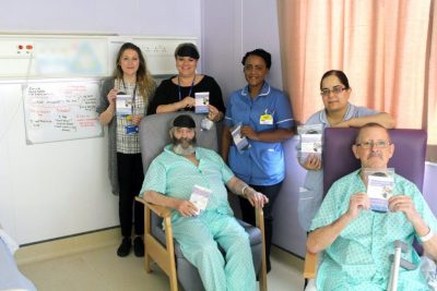 Sleep packs have been given to wards to help patients