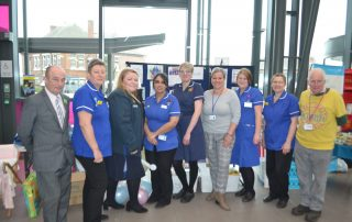 Wren team and partners at Baby Aid launch