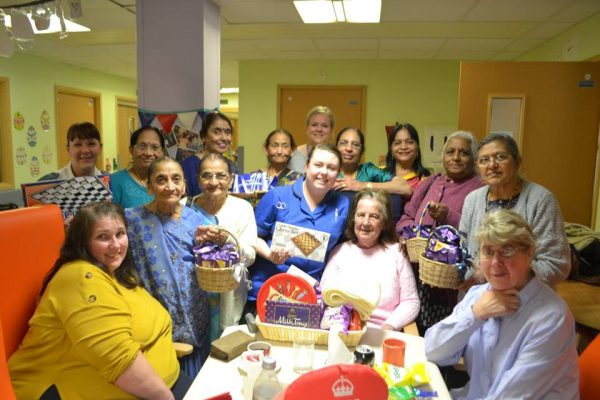 Hindu ladies sing a blessing for Ward 2