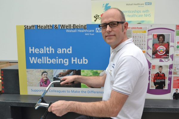 Physio Mark is doing charity bike ride