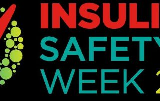 Logo for insuline safety week