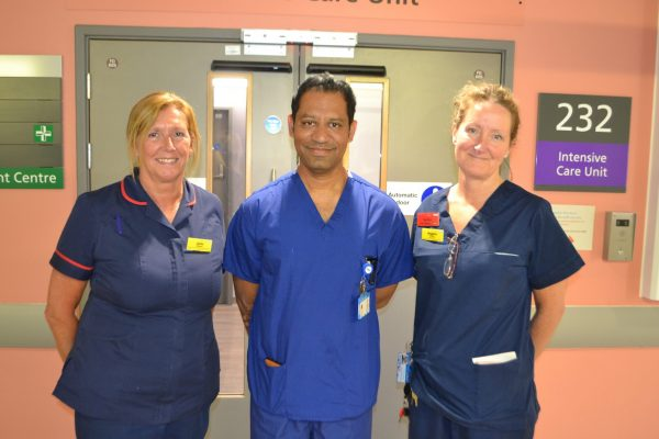 Critical Care Matron, Consultant and Sister