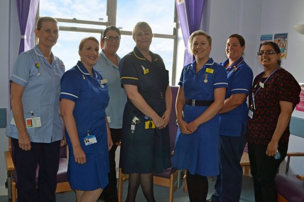 Divisional director of midwifery goes back to work in maternity