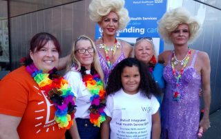 WiSH team at Walsall Pride 2019
