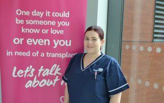Specialist Nurse - Organ Donation Natalie Myatt
