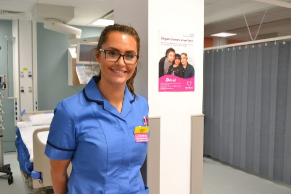 ICU Sister Laura urges people to talk about organ donation
