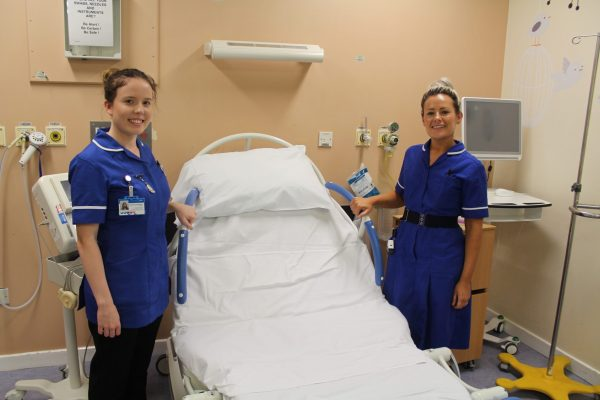 Midwives on delivery suite