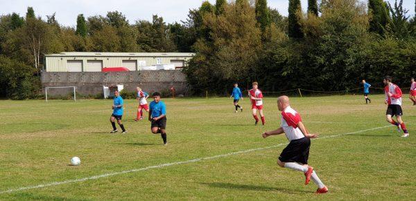 Well Wishers football match