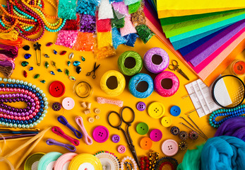 Items for craft activities