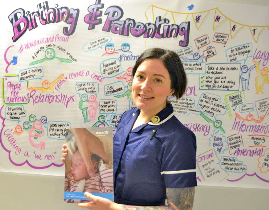 Hazel Brookes, Infant Feeding Specialist Midwife