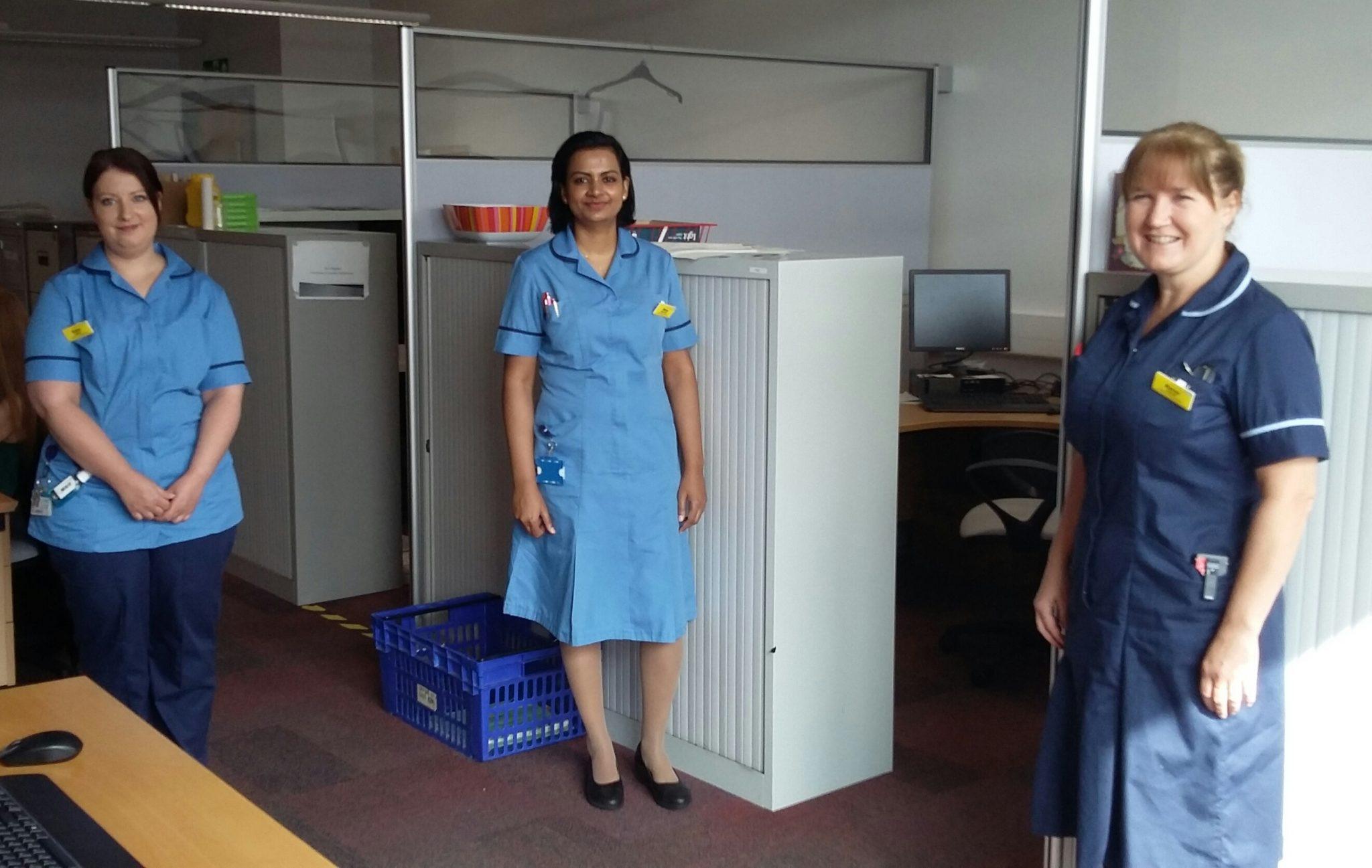 Diabetes nursing team
