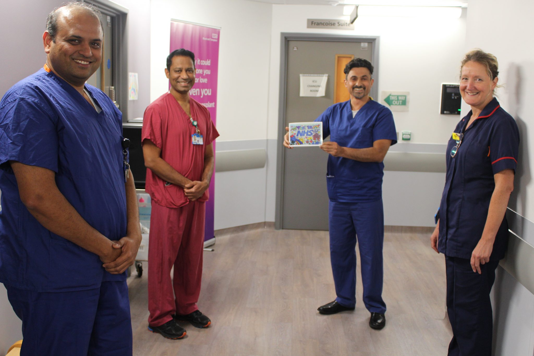 ICU was thankful for additional clinical support