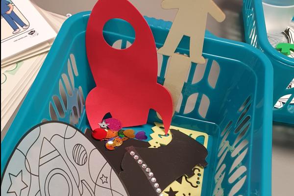 Play in hospital week crafts
