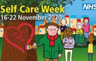Logo for self care week 2020