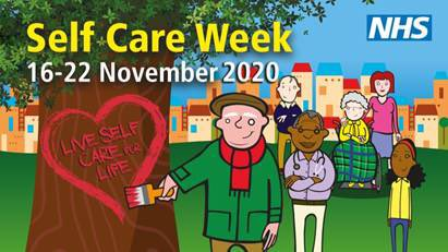 Logo for self care week 2020