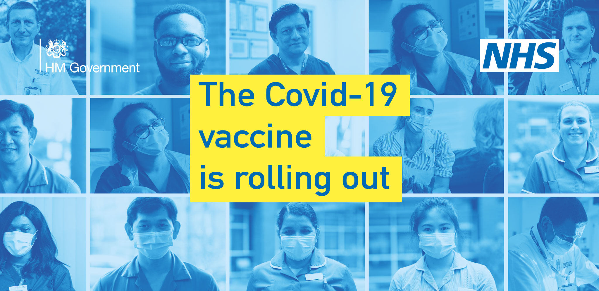 The Covid-19 vaccine is rolling out