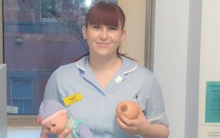 Breastfeeding Support Worker Rachel Astle