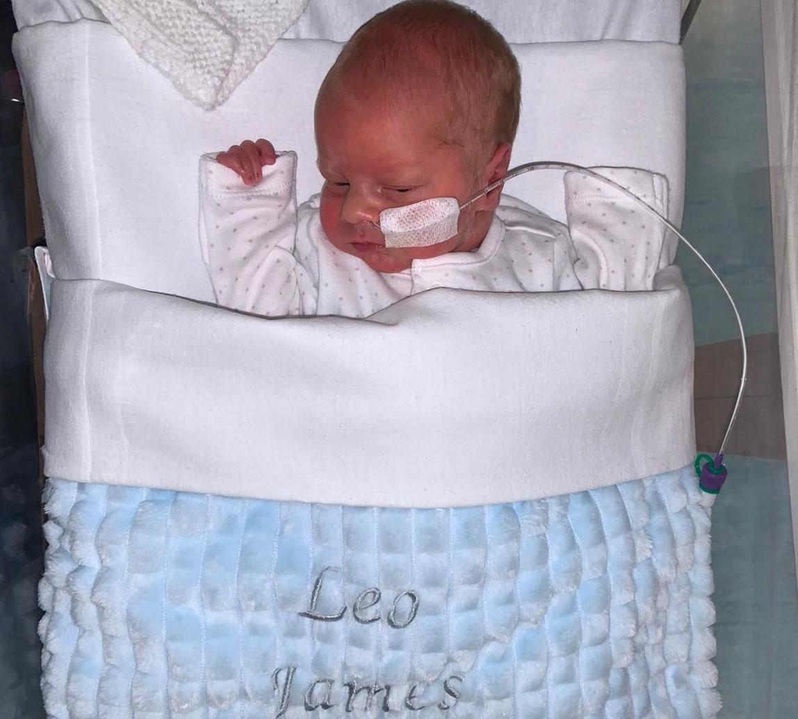 Baby Leo James