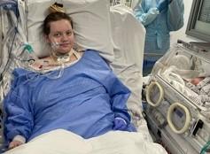 Mum Ellie recovering in critical care