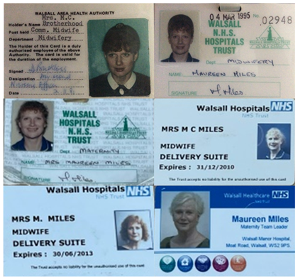 Maureen ID badges