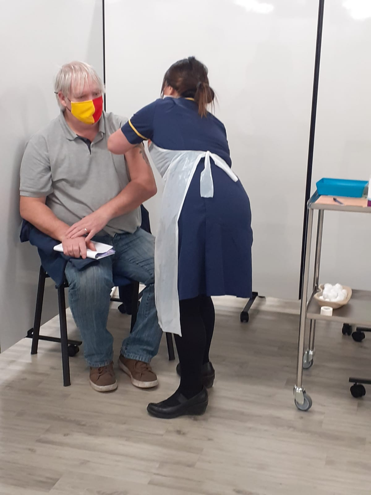 saddlers vaccination centre