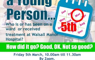 5th March 1st friday focus poster