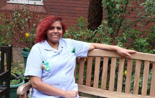 Scholarship winner Sheila Kerai