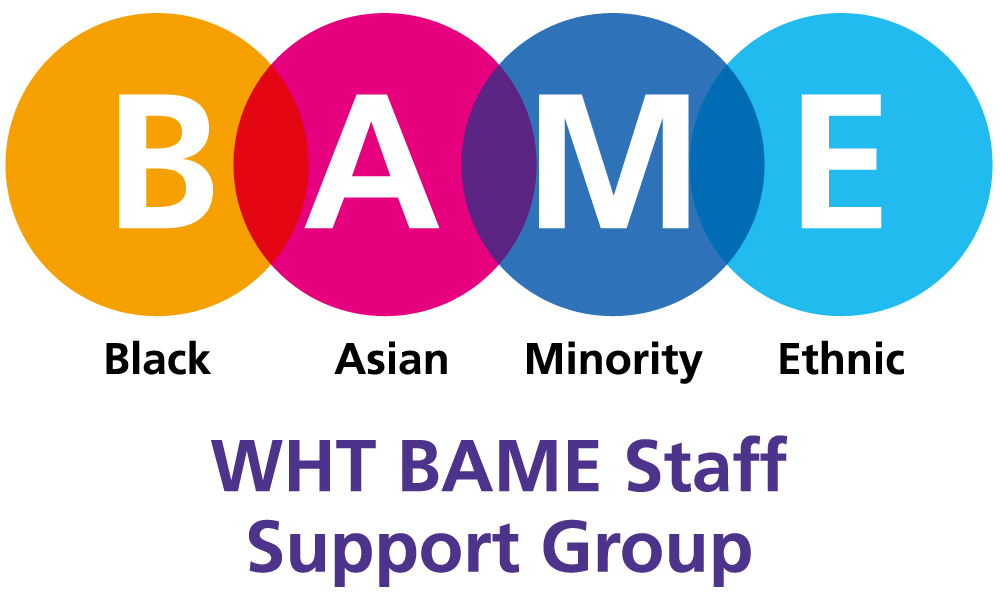Logo for BAME Staff Support Group