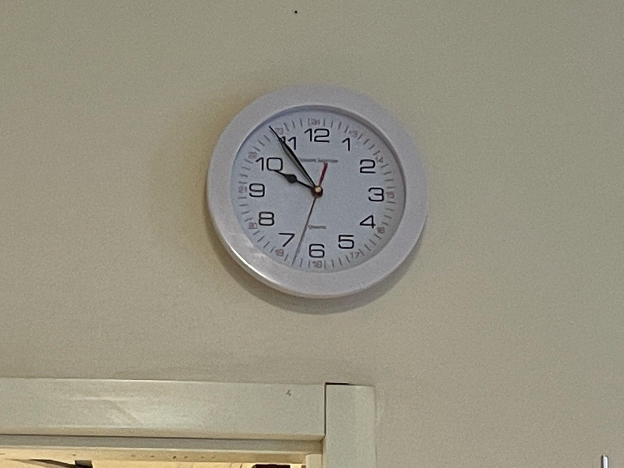 ward 17 clock