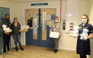 Jamie and Hannah visit Walsall Manor Hospital