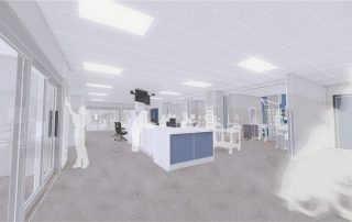 Artist's impression of inside the new Emergency Department