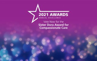 Staff Awards 2021 - Sister Dora Award for Compassionate Care